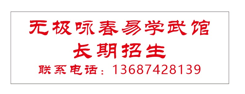 佛山市武术协会無極詠春易學武馆